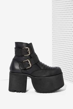 82f4185d19f UNIF Downer Leather Boot King Shoes