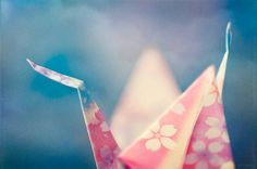 A Crane for Japan by pixelmama, via Flickr