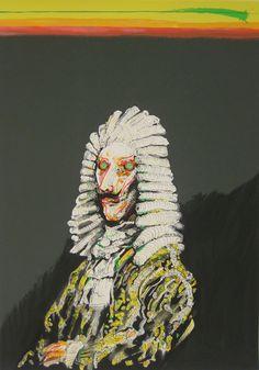 Auringon laskiessa - Le Roi Soleil, Juhani Linnovaara Finland, Painting & Drawing, Surrealism, Contemporary Art, Lion Sculpture, Artsy, Faces, Illustrations, Drawings