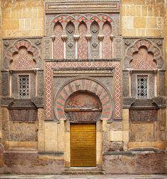 Great Mosque. Córdoba, Spain. Umayyad. c. 785–786 C.E. Stone masonry.
