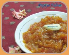 Healthy and Nutritious Papaya Halwa