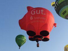 Ballonfahrt  im  Sauerland