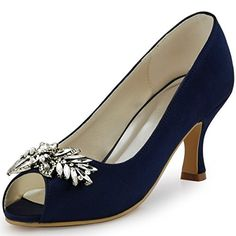 ElegantPark HP1540 Women Peep Toe Evening Party Pumps Middle Heels Rhinestones Satin Bridal Navy Blue Wedding Shoes US 10 Elegantpark http://www.amazon.com/dp/B015C228VY/ref=cm_sw_r_pi_dp_-w.axb1NMMYEB