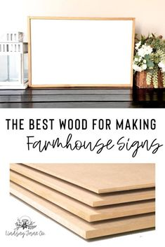 Diy Wood Projects, Woodworking Projects, Woodworking Plans, Tall Planter Boxes, Planters, How To Make Signs, Making Signs On Wood, Sign Materials, Diy Wood Signs