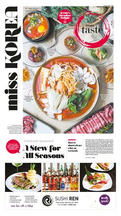 miss KOREA: A Stew for All Seasons|Epoch Taste #Korean #Cuisine #newspaper…