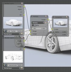 How to Render Wireframes in Blender