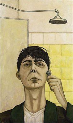 John Brack · Self Portrait · 1955 · National Gallery of Victoria · Melbourne
