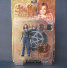 "Buffy The Vampire Slayer Transformation Willow 6"" Action Figure 2004 #DiamondSelect"