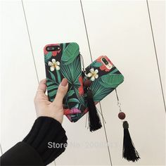 >> Click to Buy << Fahion Retro Flower Tree Tassel for iPhone7 plus Case Cover for iPhone 6 6s 6plus 6splus Frosted Hard Case Oil Painting Style #Affiliate