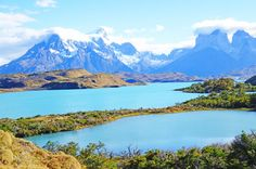 Parque Nacional Torres Del Paine, Lago Pehoe, Chile