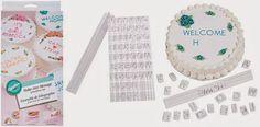 EAT MORE CAKE: Criações com Pasta de Açúcar - Letras e Números