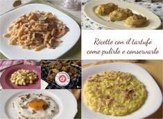 RICETTE CON TARTUFO NERO E BIANCO #tartufo #ricette #primi #secondi #antipasti #contorni #truffle #recipe #recipes #italy #italian #food #ilchiccodimais http://blog.giallozafferano.it/ilchiccodimais/ricette-con-tartufo-nero-bianco/