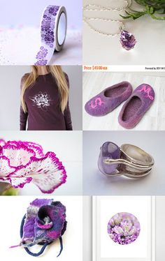 purple jewelry by Tubidu on Etsy--Pinned+with+TreasuryPin.com