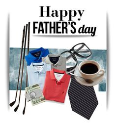 """Happy Father's Day!"" by pattykake ❤ liked on Polyvore featuring Calvin Klein and American Coin Treasures"