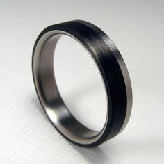 Carbon Fiber Ring with Bubinga Wood Liner mens carbon fiber rings