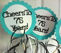 30th 40th 50th 75th Birthdays and Anniversary by FromBeths on Etsy, $9.50