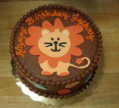 Lion Cake by Sticky Fingers Bakery, via Flickr