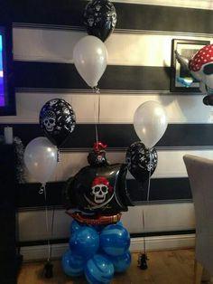 Pirate #theme #balloons #bellissimoballoons