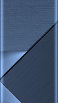 Blue Geometric Abstract Wallpaper