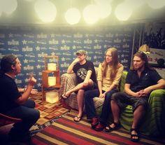 La agrupación británica #Carcass brindó una entrevista exclusiva al #FestivalLatinoamericanodeMúsica #SuenaCaracas #Rock #Inglaterra Venezuela