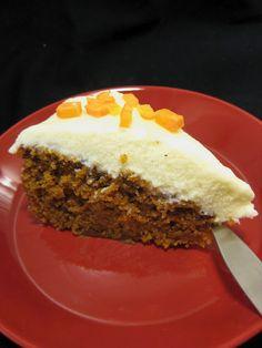 carrot cake (in Finnish)