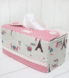 퀼트미 [스위트홈 티슈케이스] tissue holder