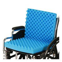 Convoluted Seat/Back Wheelchair Cushion | Nova #2657-3 #medical #medicalsupplies #pro2medical #health #healthcare #lifestyle #Lubbock  #circulation #heel #newstuff