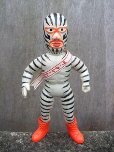 1970s zebra man by Nakajima Toys.