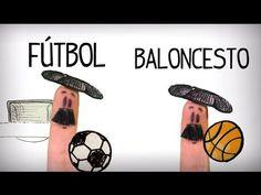 Vídeo para aprender los deportes en español, aprender pronunciación y vocabulario básico. Español inicial