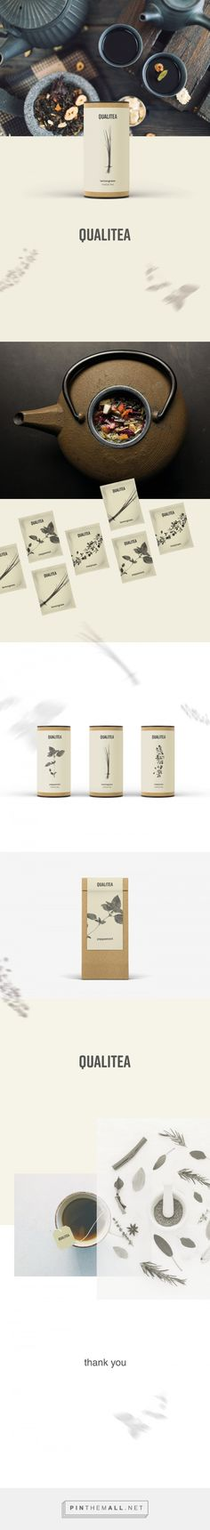 Qualitea Tea Packaging by Joanna Xenofontos | Fivestar Branding Agency – Design and Branding Agency & Curated Inspiration Gallery