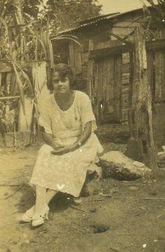 Woman Sitting On Rock, Jamaica