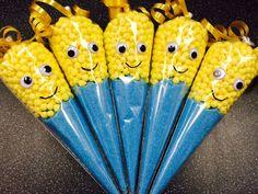 Minion sweet cones