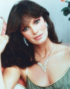 Jaclyn Smith:  Charm, elegance, class, grace, beauty, and more, all rolled into one lady.  I could pin pictures all day of her beautiful hair ...