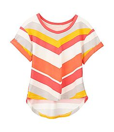 Copper Key 716 Stripe Top #Dillards