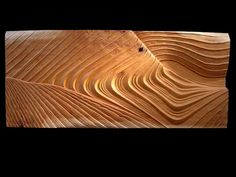 The Wave - Studio Carving 72x30inches