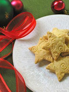 The Food Mentalist: Christmas Vanilla Bean Shortbread