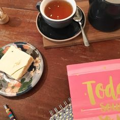 Made it to @foodstoryscotland earlier than planned so a slice of their delicious White Millionaire Cake it is. Working on some content ideas for Teacups & Buttondrops too #fbloggers #lbloggers #bbloggers #aberdeenbloggers #shoplocal #foodstory