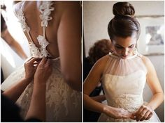 beautiful neckline and back