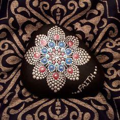 This dotober challenge is awesome. Hopefully, I can keep up with it This is a variation of my favorite pattern #dot_tober #mandala #mandalastones #love#mandalalovers #rockart#dotart #dotting #dotartwork #stoneart#stonemandala #artsandcraftslovers#crafty#rockpainting#stonepainting #meditation#mandalameditation#mandalaart#artsandcrafts#rockpainting#arttherapy #therapeutic#colourful#dotart #dottilism #pointillism#stonemandalas#beachstones #homedecor#gardendecor#create#mandalaflower