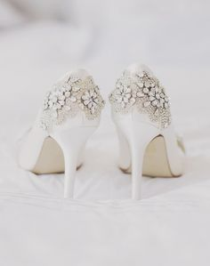 "Donna Crain provides embellished Shoe Service, to make you feel extra special on your Big day!  For more Alternative Wedding inspiration, check out the No Ordinary Wedding article ""20 Quirky Alternatives to the Traditional Wedding""  http://www.noordinarywedding.com/inspiration/20-quirky-alternatives-traditional-wedding-part-2"