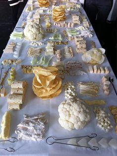 marije vogelzang: white lunch