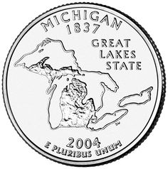 70 best state quarters images coins state quarters united states New York State Beverage michigan state quarter state of michigan detroit michigan marquette michigan northern michigan