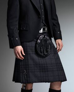 The kilt and tartan that I'll be donning in July.