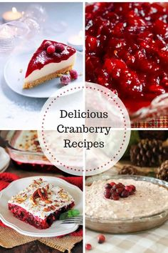 Delicious Cranberry Recipes at Inspire Me Monday - My Uncommon Slice of Suburbia Cranberry Jello Salad, Cranberry Cheesecake, Pumpkin Pie Cheesecake, Pumpkin Spice Cake, Cranberry Recipes, Holiday Recipes, Pumpkin Risotto, Top Recipes
