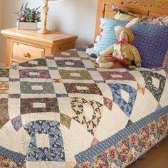 FREE PATTERN: Home Sweet Home (from The Quilter Magazine)
