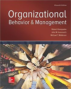 You will download digital wordpdf files for complete solution solution manual organizational behavior and management 11th edition by robert konopaske fandeluxe Images