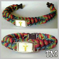 Custom Order -  Stitched Switchback Paracord Bracelet