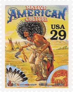 Native American Culture - 1994 - 29 c (Legends of the West)