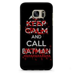 Stay Crazy And Call Joker Phonecase Cover Case For Samsung Galaxy S3 Samsung Galaxy S4 Samsung Galaxy S5 Samsung Galaxy S6 Samsung Galaxy S7