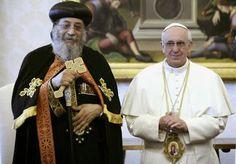 UNCIÓN  CATÓLICA  Y  PROFÉTICA: El Papa Ortodoxo Copto propone a S.S. Francisco Pa...